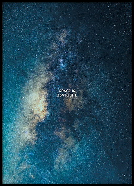 Space is the Place Affiche dans le groupe Affiches / Nature chez Desenio AB (11169)