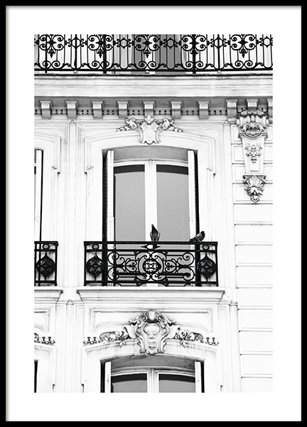 French Balcony Affiche dans le groupe Studio Collections / Studio Cosmopolitan chez Desenio AB (11342)