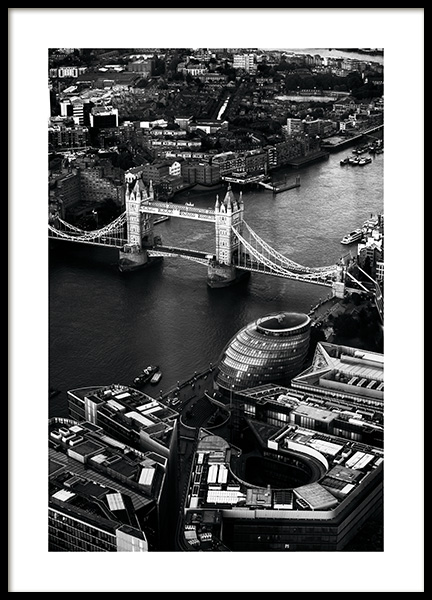 View of Tower Bridge Affiche dans le groupe Affiches / Photographie chez Desenio AB (11375)