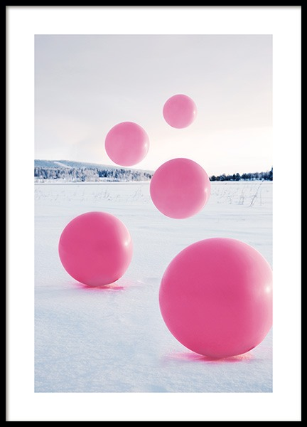 Floating Balloons Affiche dans le groupe Affiches / Collections Studio / Studio Mystery chez Desenio AB (12179)