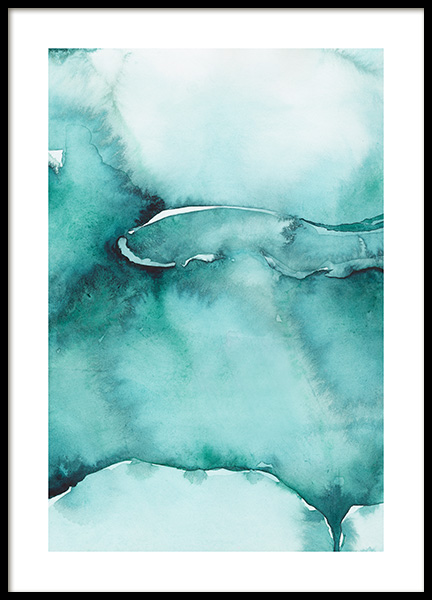 Abstract Watercolor No3 Affiche dans le groupe Affiches / Art / Art abstrait chez Desenio AB (12368)