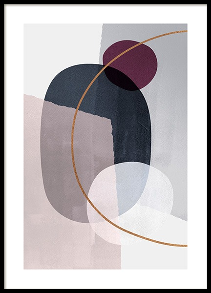 Abstract Color Blocks No2 Affiche dans le groupe Affiches / Art chez Desenio AB (13227)