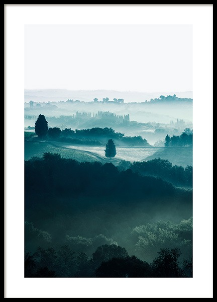 Fields in Tuscany Affiche dans le groupe  chez Desenio AB (13430)