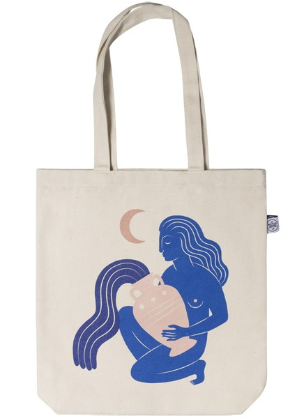 Under the Moon Tote Bag dans le groupe Limited edition chez Desenio AB (TOTE50143)