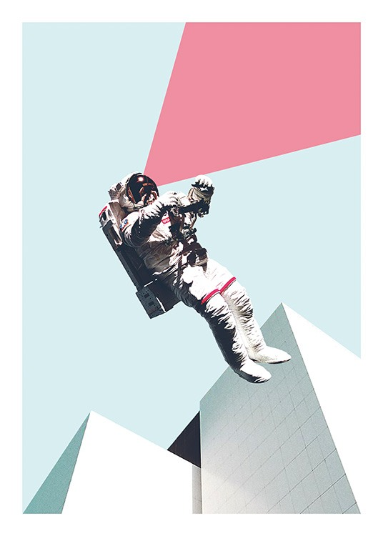 Out of This World Affiche / Art chez Desenio AB (11075)