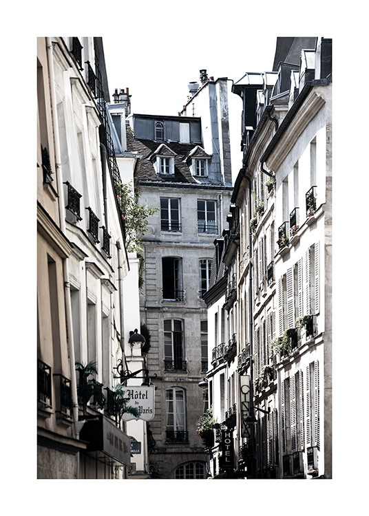 Paris Alley Affiche / Photographie chez Desenio AB (11350)