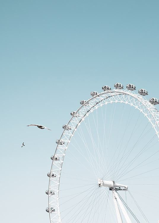 London Eye Affiche / Photographie chez Desenio AB (11359)