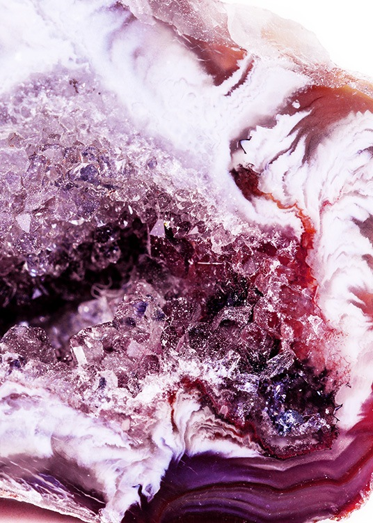 Abstract Agate No2 Affiche / Photographie chez Desenio AB (12092)