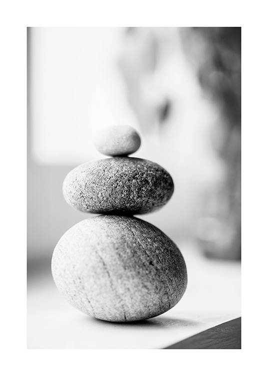 Stack of Pebbles Affiche / Photographie chez Desenio AB (13687)