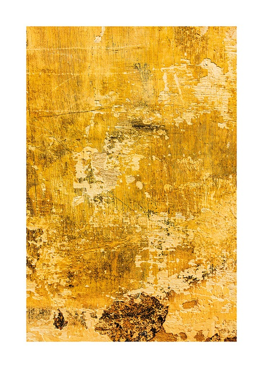 Yellow Wall Affiche / Photographie chez Desenio AB (13748)