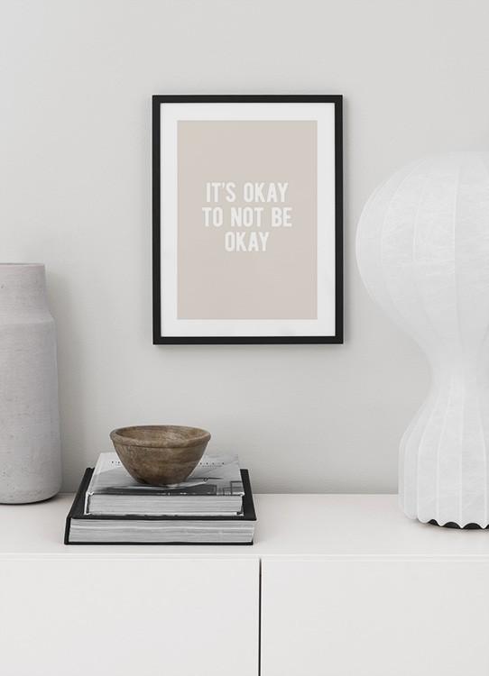 It S Okay Affiche