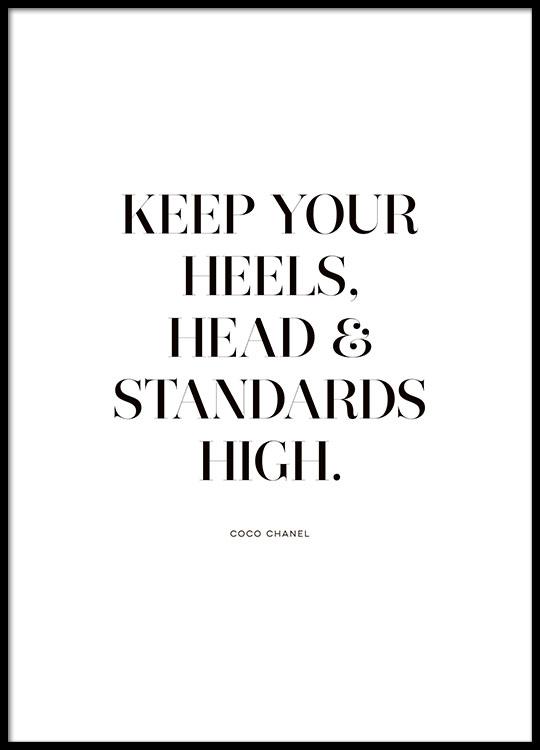 Standards High Affiche
