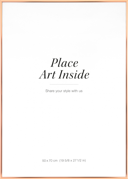 cadre couleur cuivre 50 x 70 cm cadres en ligne. Black Bedroom Furniture Sets. Home Design Ideas